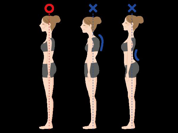 痩せるだけじゃない!正しい姿勢が生み出す、キレイの好スパイラル。