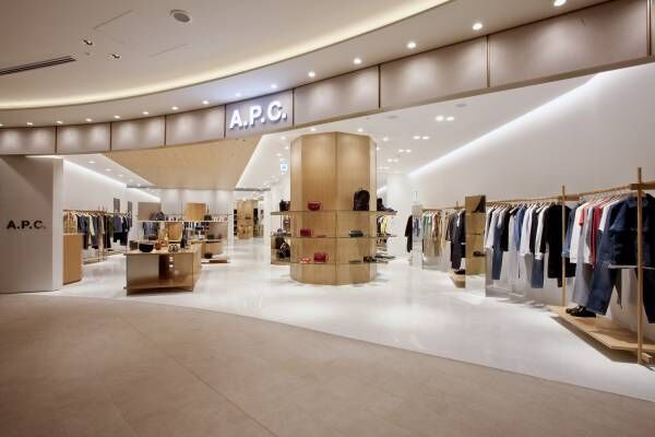 『A.P.C.』が東京ミッドタウン日比谷に新店舗をオープン!!