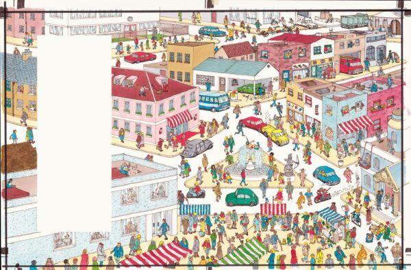 【招待券プレゼント】あのボーダーの人気者に会える!? 絵本シリーズ「ウォーリーをさがせ!」の絵本原画が日本初登場!『誕生30周年記念 ウォーリーをさがせ!展』