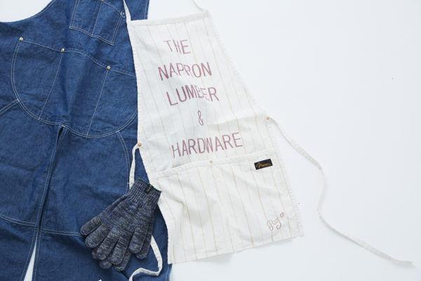 エプロンも軍手も妥協したくない!  ファッションとして楽しむ『NAPRON』のワークウェア