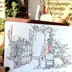 長野県小諸の隠れ家「読書の森」で過ごす豊かな時間。【イラストダイアリー】