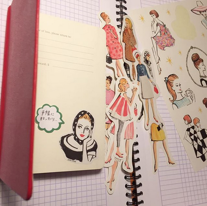 人気イラストレーターuna carta 個展「4月のパリmemo」を開催します!【パリ雑貨レター13】