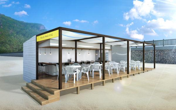 まるでアメリカ西海岸? 逗子海水浴場にインスタ映え間違いなしのプチ・リュクスな海の家『YOLO PACIFIC(ヨロ パシフィック)』がオープン!