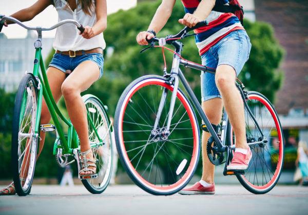 自転車通勤・通学の人必見!体脂肪を上手に燃やして痩せる方法とは?