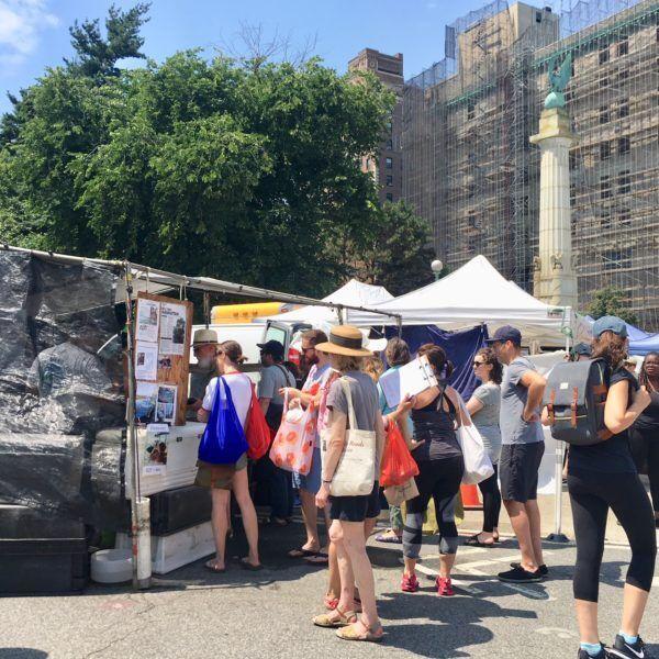 週末の楽しみは、ニューヨーカー達が集うグリーンマーケット。【My Favorite New York vol.3】