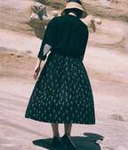 希望託す未来のタネを運ぶ「rikolekt」のフレアスカート