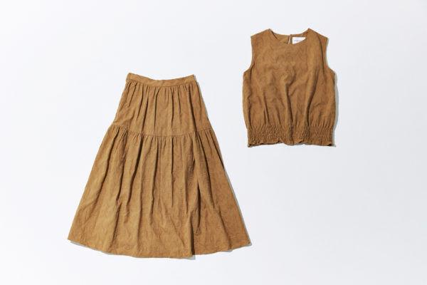 服を着るという楽しみを改め知る、『Vincent et Mireille』の秋色セットアップ
