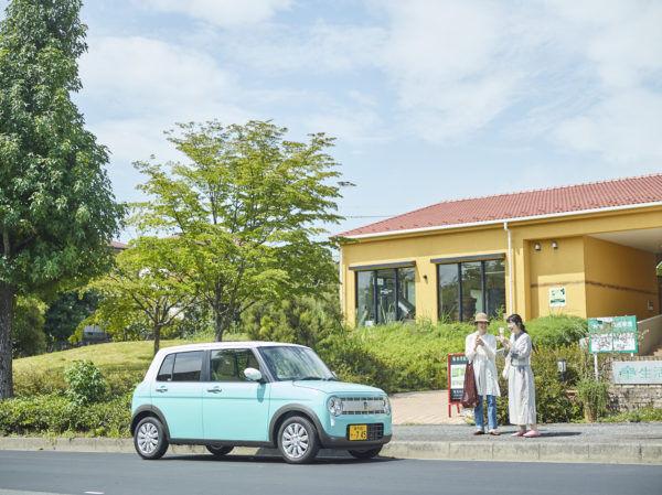 平成最後の秋、〈ラパン〉に乗って「生活の木 メディカルハーブガーデン 薬香草園」へ。キレイ探しのショートトリップへ出かけよう!