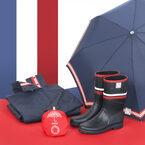 雨の日も、雪の日も。フレンチアイコンブランドがタッグを組んだコラボレインアイテム