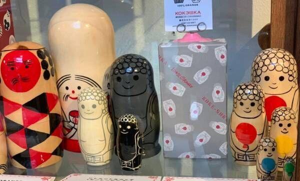 大人女子だからこそ。クリスマスギフトは、こけしとマトリョーシカの専門店『コケーシカ』へ