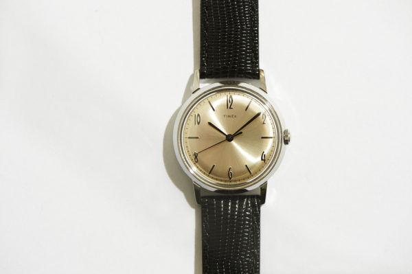 大人好みのエレガンス。復刻した名作時計、『TIMEX(タイメックス)』の「マーリン」