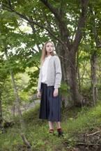 クラシカルでフェミニンな『Manna』のコート&ニットスタイル【ブランドファイル】