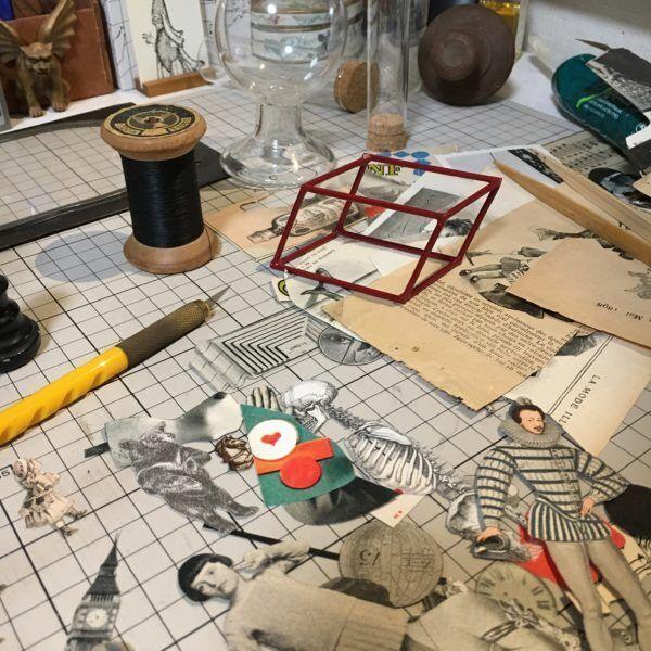 いにしえの時代の素材たちが、机の上で新しい作品へと生まれ変わる瞬間。【Creation Column -Vol.4-】