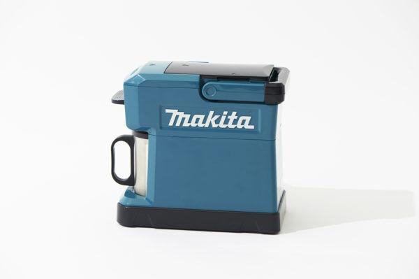 アウトドアで活躍!骨太なデザインがグッとくる、『makita(マキタ)』の充電式コーヒーメーカー