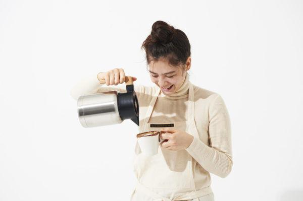 白湯や紅茶をいつでも好きなときに。冬の飲みものは、おしゃれなサーモジャグで保温