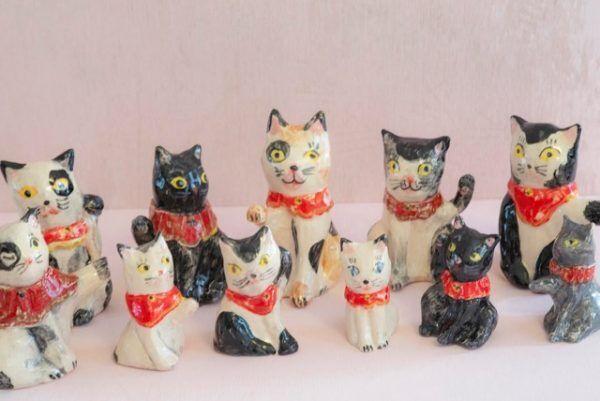 猫好きさん集まれ~!…人気イラストレーター ナタリー・レテ個展