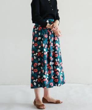 ショップスタッフが選ぶ、この春オススメの「柄スカート」特集