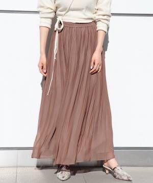たっぷりロング丈が気分。ショップスタッフが勧める「春スカート」特集