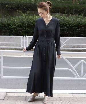 大人の魅力を引き出す色。春夏も軽やかに着られる「黒ワンピース」特集