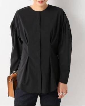 モードな雰囲気で差を付けて。春夏こそ着たいブラックの「シャツ・ブラウス」特集