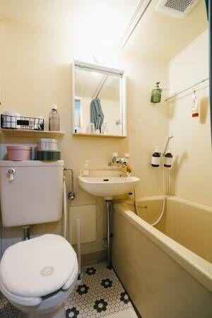 【教えて!グッドルーム 】賃貸のバスルーム・サニタリースペース、どう使う?素敵な空間に変える実例アイディアまとめ【プチDIY女子達のお部屋案内】