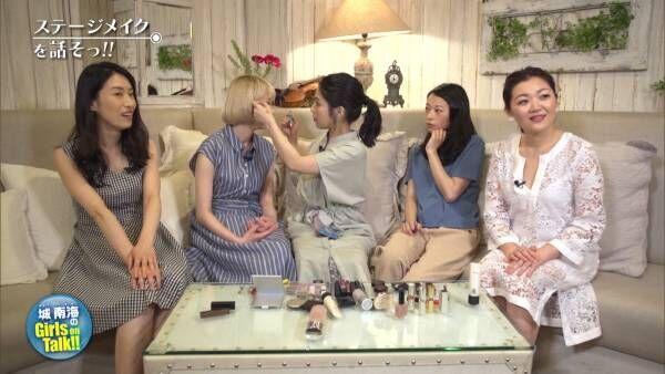 BSフジで放映中『城南海のGirls on Talk!!』 #1  ステージメイク編