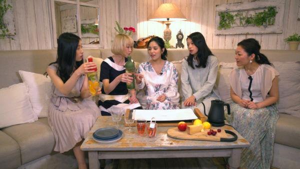 BSフジで放映中『城南海のGirls on Talk!!』 #2 キッチン&テーブルウェア編