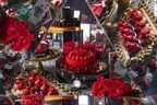 ヒルトン東京の新デザートビュッフェで薔薇と鏡の迷宮に迷い込む…耽美でダークなお茶会【アリス in ローズ・ラビリンス】