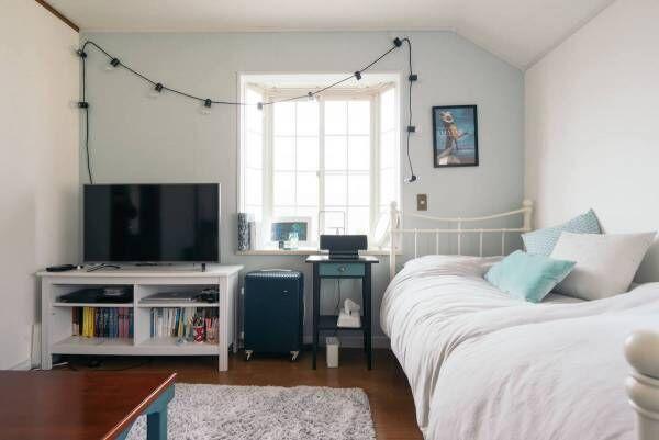 夏の寝室対策