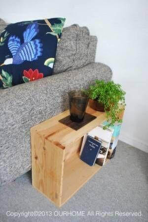 木箱を使ったおしゃれな収納実例まとめ【プチDIY女子達のお部屋案内】