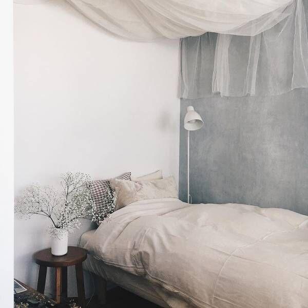 #おうち時間 無垢フローリングに木の家具でつくる居心地のいい小さなワンルーム