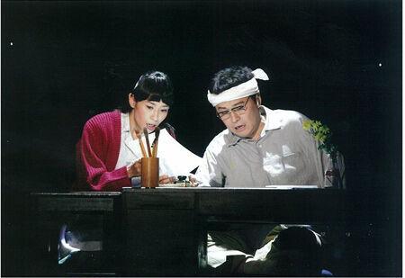 鬼太郎と猫娘も登場!舞台版『ゲゲゲの女房』開幕直前