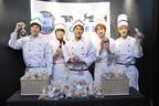 SM☆SH、日本デビュー1周年&シングル発売記念イベントでパティシエに変身