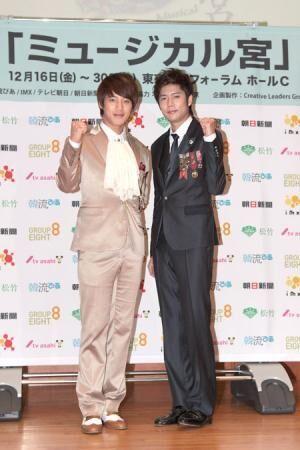 """超新星ソンモ&SS501キュジョン、ふたりの""""皇太子""""がガッチリ握手"""