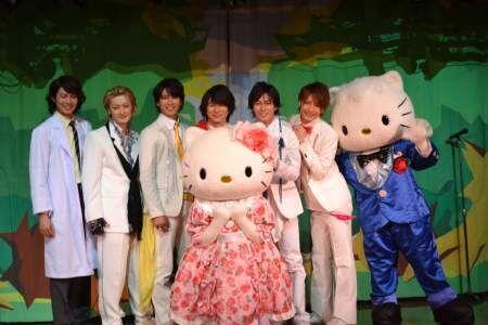 『戦国鍋TV』から誕生した舞台版のイケメンユニットがサンリオピューロランドでキティちゃんとコラボ!