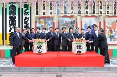 亀治郎の名前では最後の出演。『新春浅草歌舞伎』が賑やかに開幕!