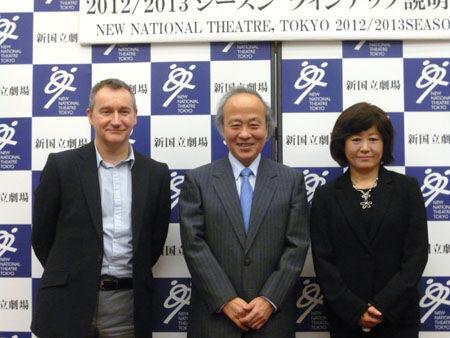 新国立劇場が2012/2013シーズンのラインアップを発表<演劇・ダンス部門>