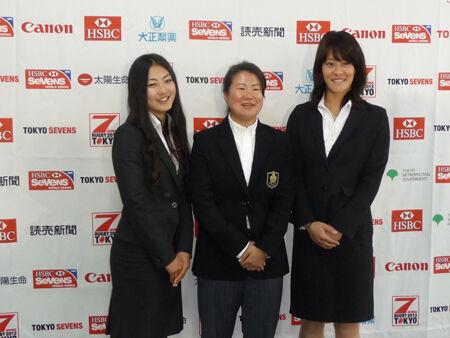 女子7人制ラグビー日本代表のヘッドコーチに浅見敬子が就任