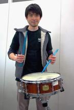 パーカッション奏者・石川直、『ブラスト!』で日本に元気を!
