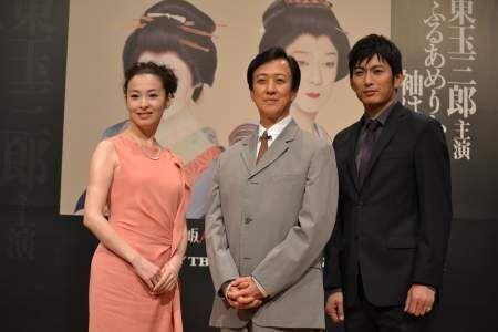 『ふるあめりかに袖はぬらさじ』で坂東玉三郎と檀れいの共演が実現!