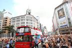 メダリスト71人の凱旋パレードに50万人の人、ひと、ヒト