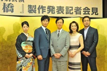 坂東玉三郎が25年ぶりに泉鏡花の名作『日本橋』に挑む!