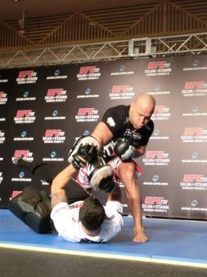 UFC再上陸! 6年半ぶりの日本でも、シウバは変わらず超攻撃的