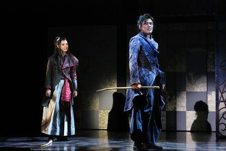 ミュージカル『天翔ける風に』、朝海ひかる主演で熱くエネルギッシュに開幕