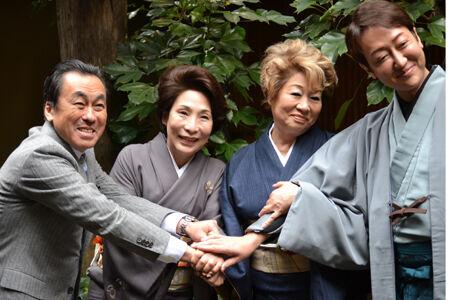波乃久里子主演で新派の名作『明治一代女』を上演
