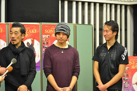 百恵さんも祝福。三浦祐太朗が宇崎竜童の舞台に出演