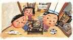 人気絵本作家・長谷川義史の展覧会が京都にて開催