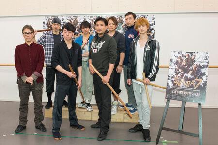 世界的ミュージカルに! 『SAMURAI 7』公開稽古