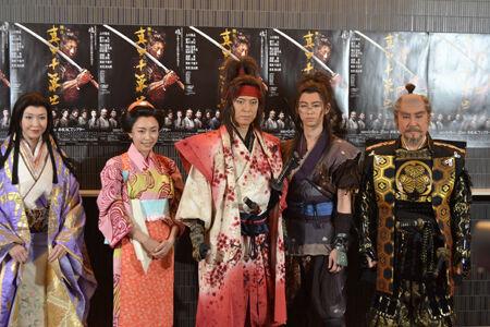 上川隆也が再び挑む時代劇『真田十勇士』が開幕