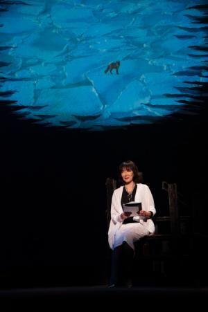 自身の小説『わりなき恋』で岸恵子が朗読劇を披露